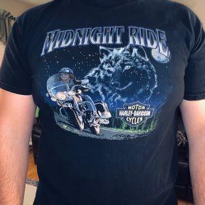 Vintage 1998 Harley-Davidson Mens XL Tee